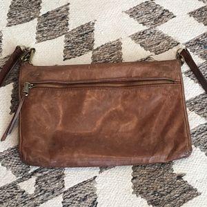 HOBO brand brother leather crossbody bag purse
